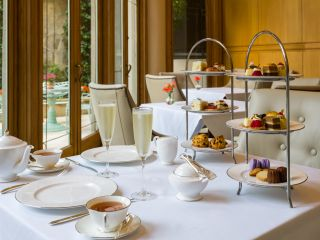 dine at mary cassatt tea room at the Rittenhouse Hotel for delicate savories, sweets and tea